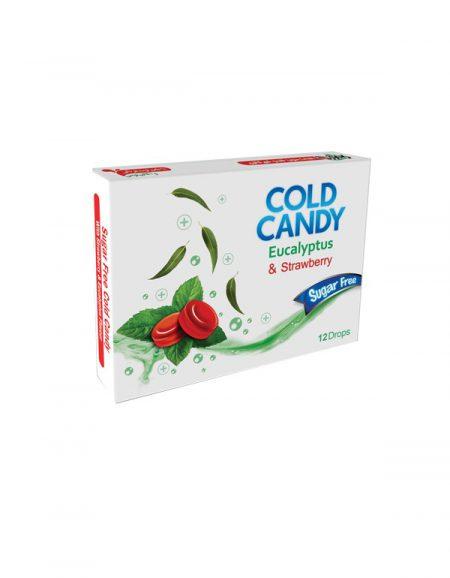 آبنبات سرد توت فرنگی بدون قند